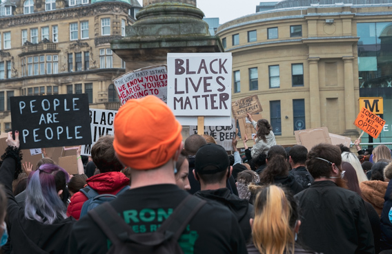 Black Lives Matter demonstration in Newcastle upon Tyne (photo report)